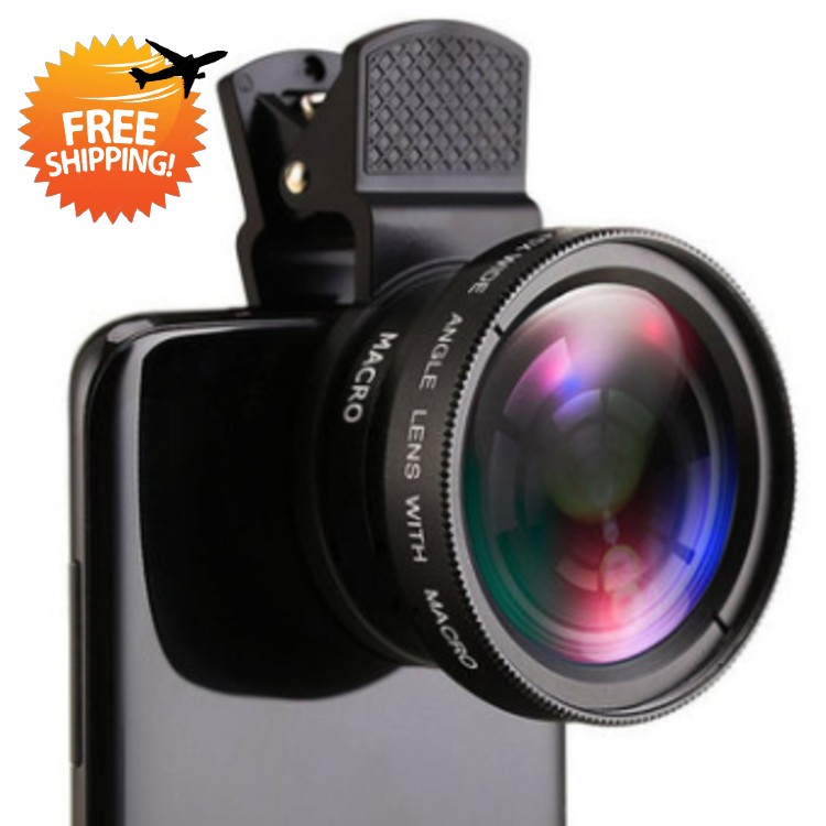0.45x ultra wide angle + macro two in one- Dropshipping Available