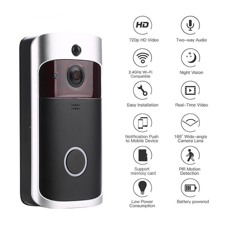 HD Smart WiFi Security Video Doorbell_2