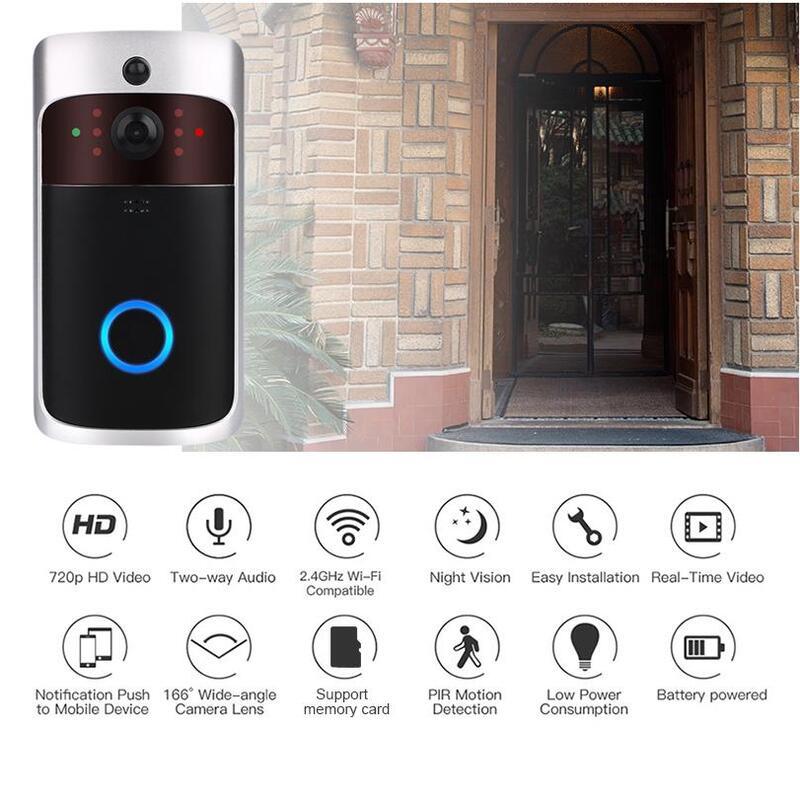 HD Smart WiFi Security Video Doorbell_3