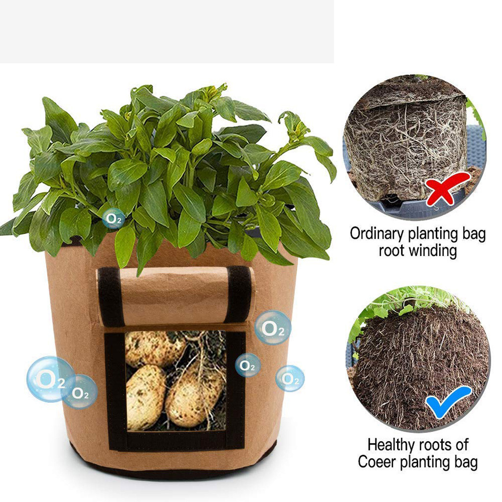 Plant Grow Bags Potato Planter Bag_5