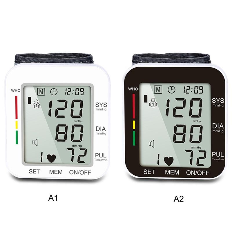 Digital Automatic Wrist Blood Pressure Monitor_7