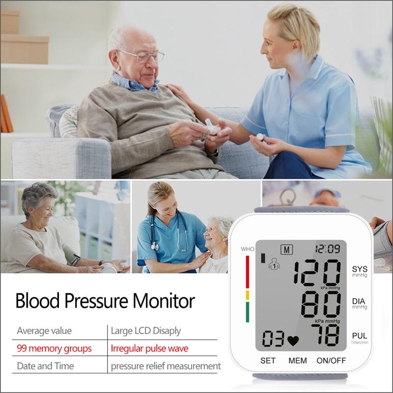 Digital Automatic Wrist Blood Pressure Monitor_2