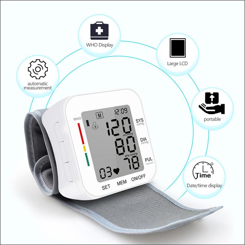 Digital Automatic Wrist Blood Pressure Monitor_1