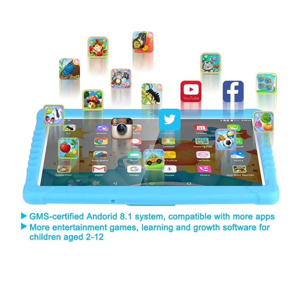"""10.1"""" Android 7.0 Quadcore Kids Smart Tablet_2"""
