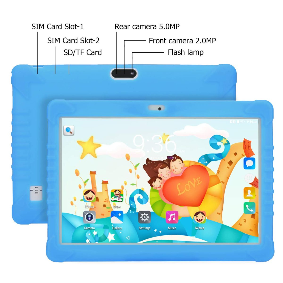 """10.1"""" Android 7.0 Quadcore Kids Smart Tablet_7"""