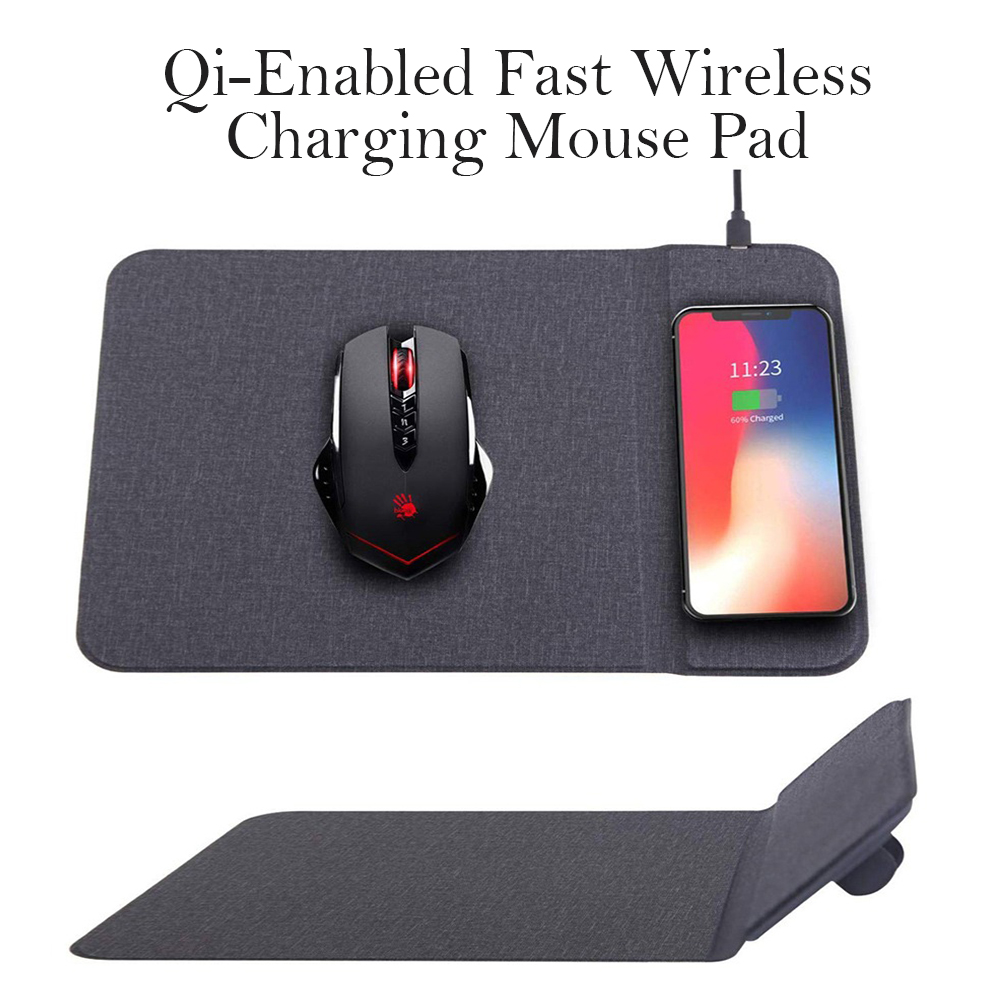 Qi-Enabled Fast Wireless Charging Mouse Pad_1