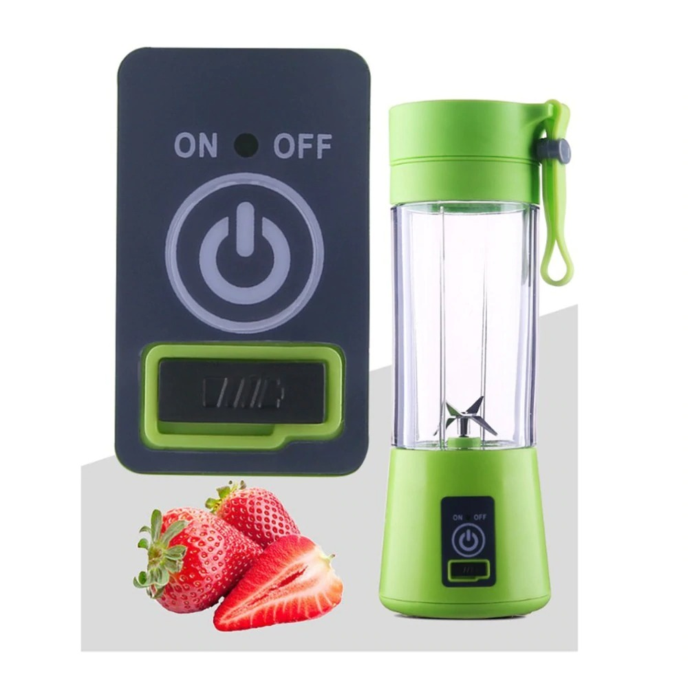 4-Blade Portable Blender Handy Powerful and Colorful_8