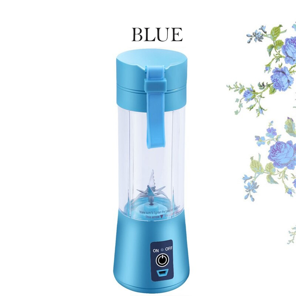 4-Blade Portable Blender Handy Powerful and Colorful_1