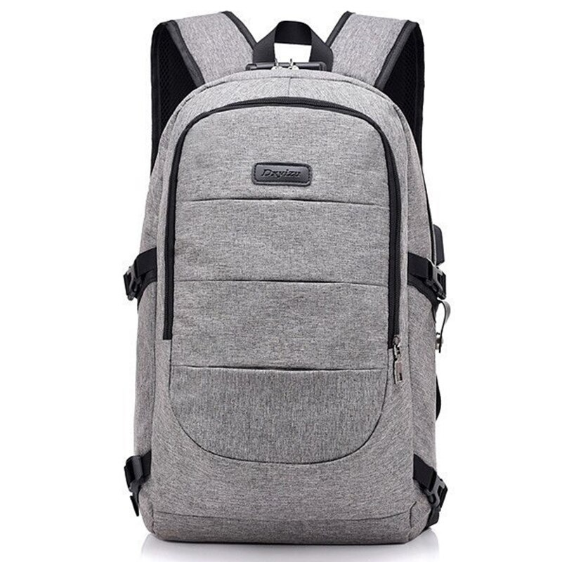 Waterproof Laptop Backpack with USB Port, Anti-theft_3
