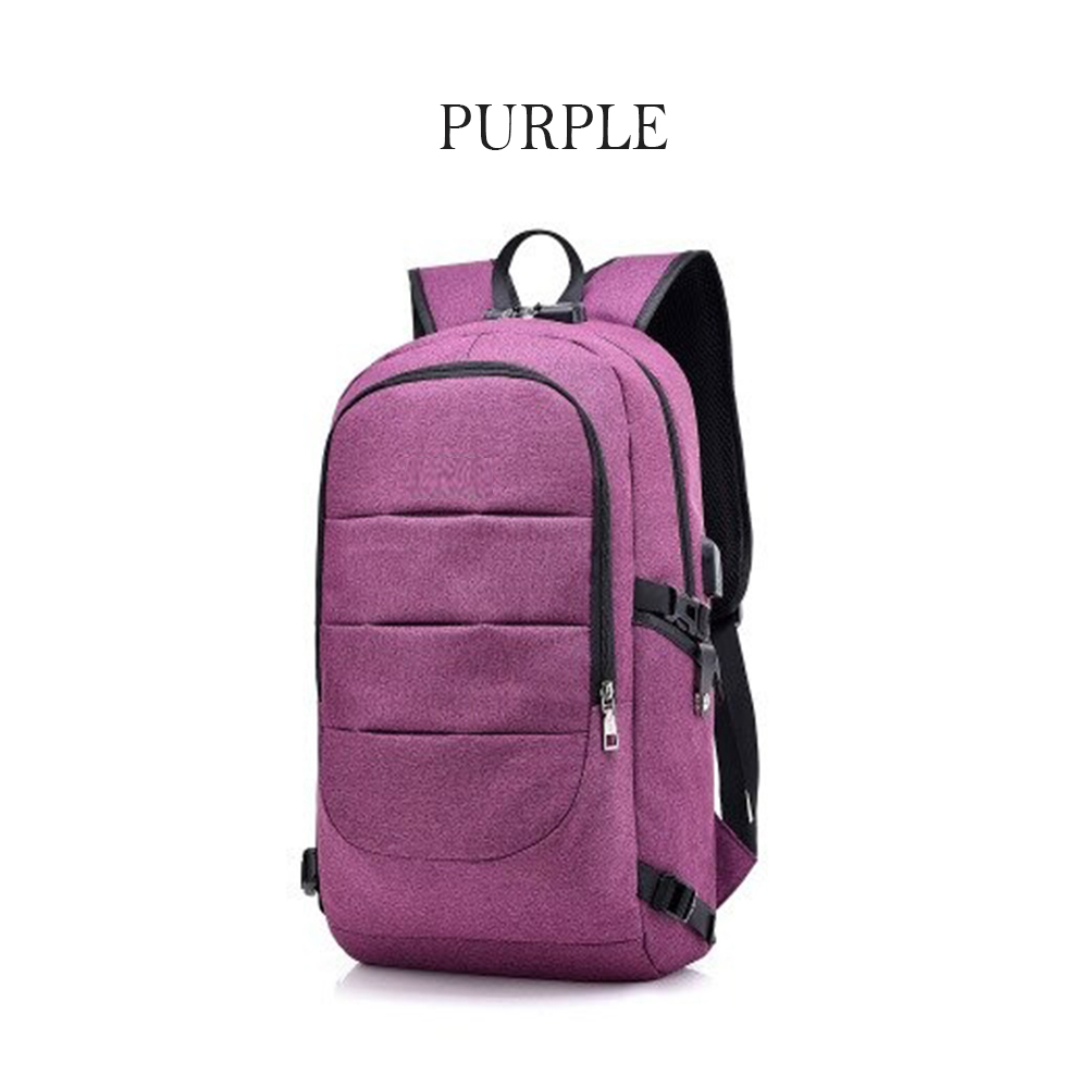 Waterproof Laptop Backpack with USB Port, Anti-theft_8