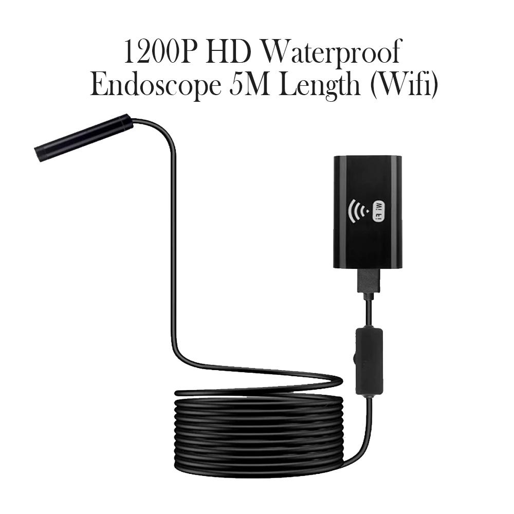 1200P HD Waterproof Endoscope 5M Length_8