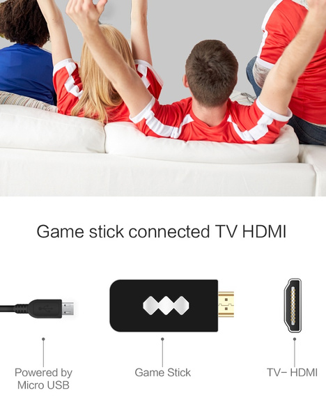 HDMI Wireless Handheld TV Video Game Console_7
