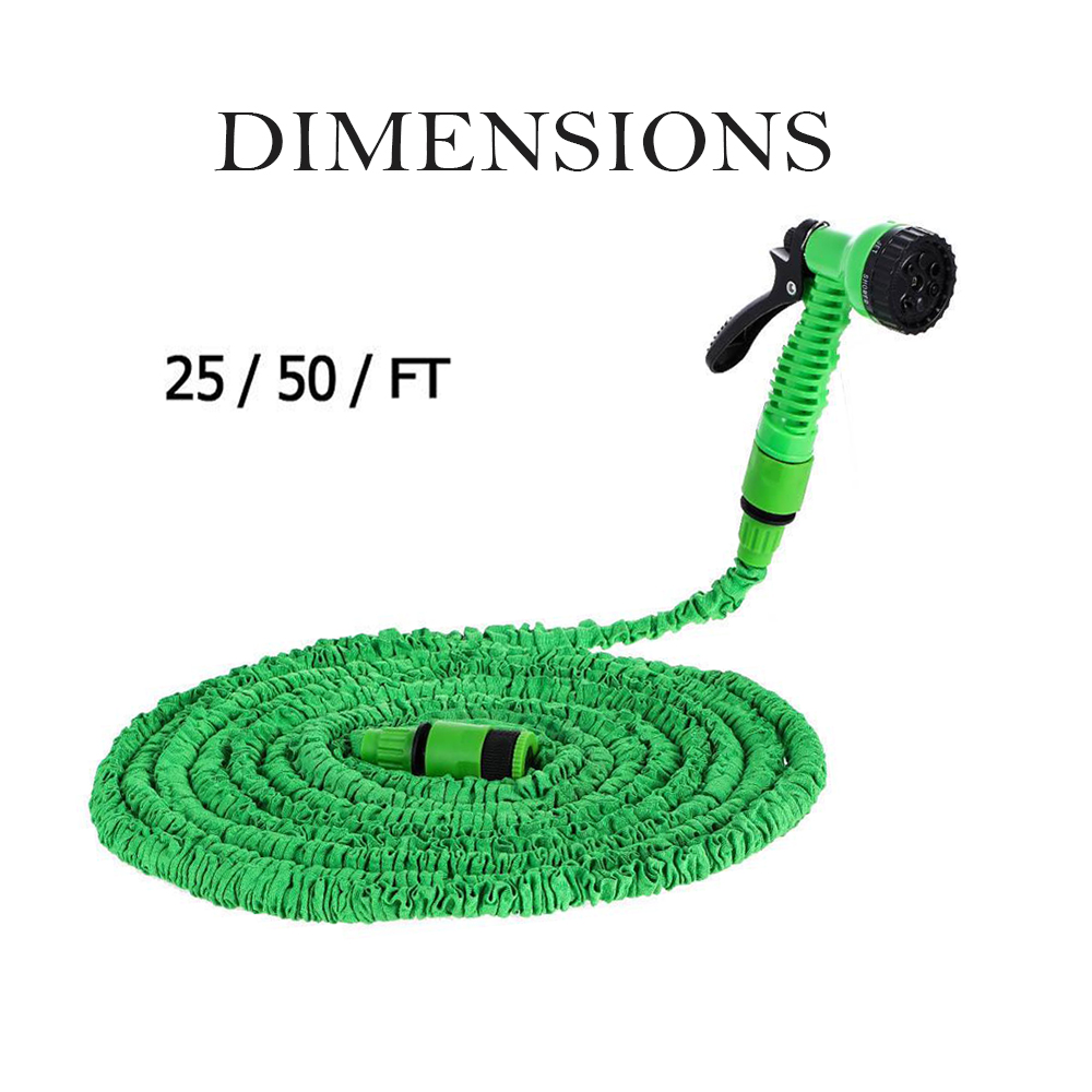 High Pressure Expandable Retractable Garden and Car Hose_8