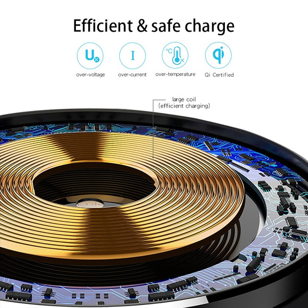 Portable Light LED Wireless Charger Bluetooth Speaker with Microphone Handheld USB_3