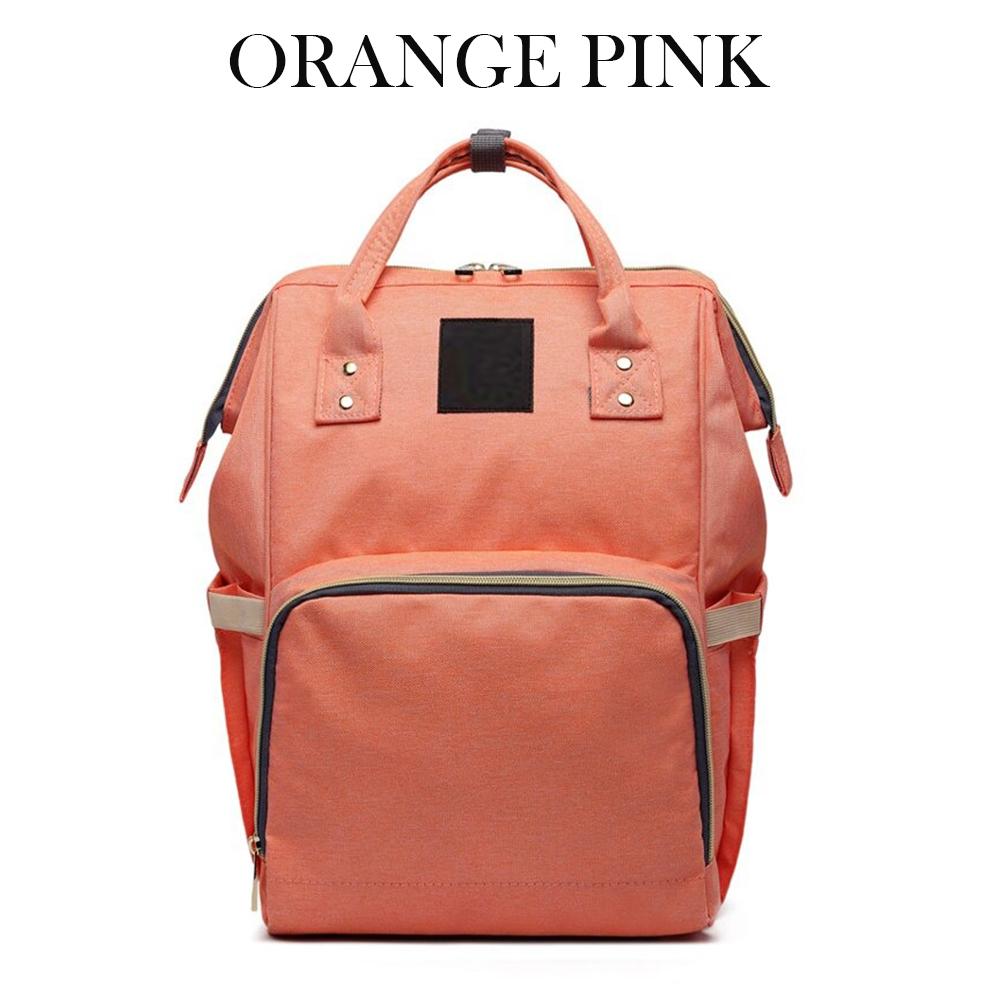 Large Capacity Nursing Nappy Backpack Handbag for Women and Travel_3