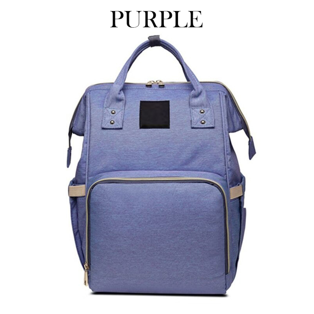 Large Capacity Nursing Nappy Backpack Handbag for Women and Travel_4