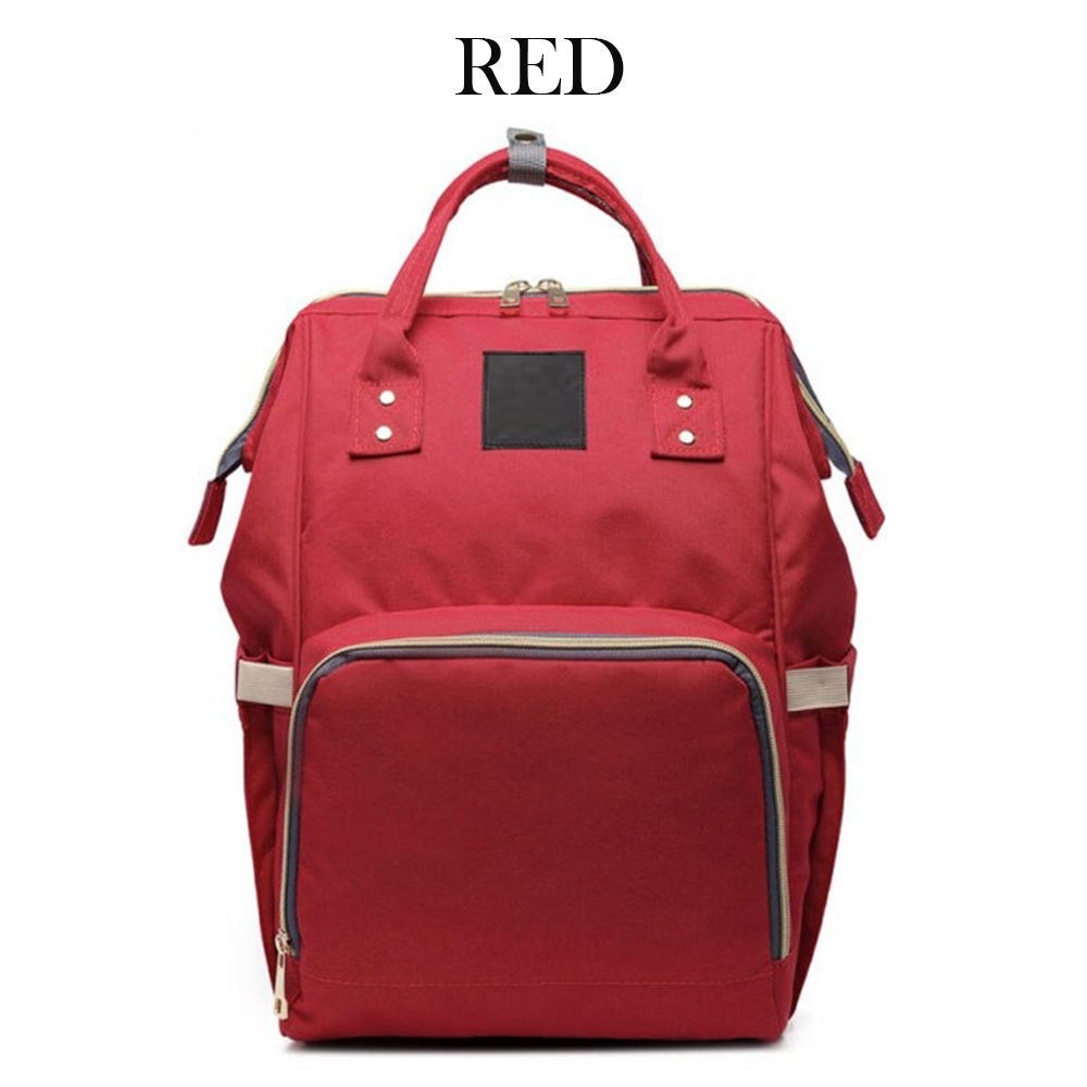 Large Capacity Nursing Nappy Backpack Handbag for Women and Travel_5