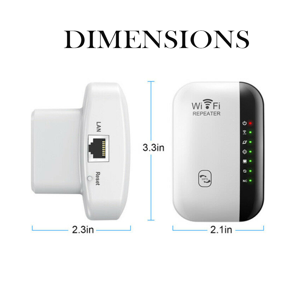 Wireless Wi-Fi Repeater and Signal Amplifier Extender Router 300Mbps Wi-Fi Booster 2.4G Wi-Fi Range Ultra boost Access Point_2