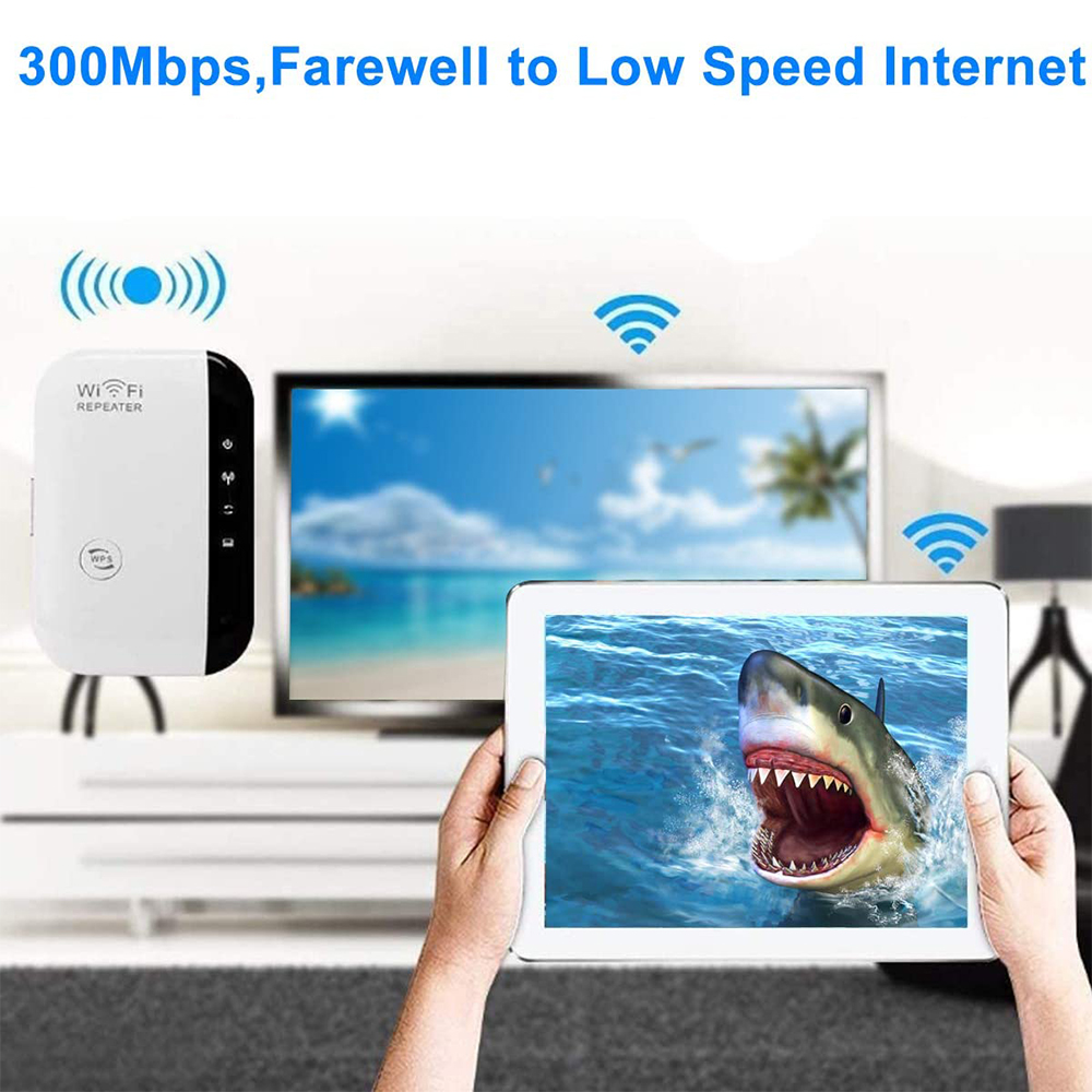 Wireless Wi-Fi Repeater and Signal Amplifier Extender Router 300Mbps Wi-Fi Booster 2.4G Wi-Fi Range Ultra boost Access Point_4