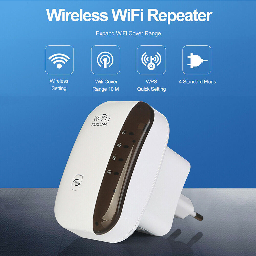 Wireless Wi-Fi Repeater and Signal Amplifier Extender Router 300Mbps Wi-Fi Booster 2.4G Wi-Fi Range Ultra boost Access Point_8