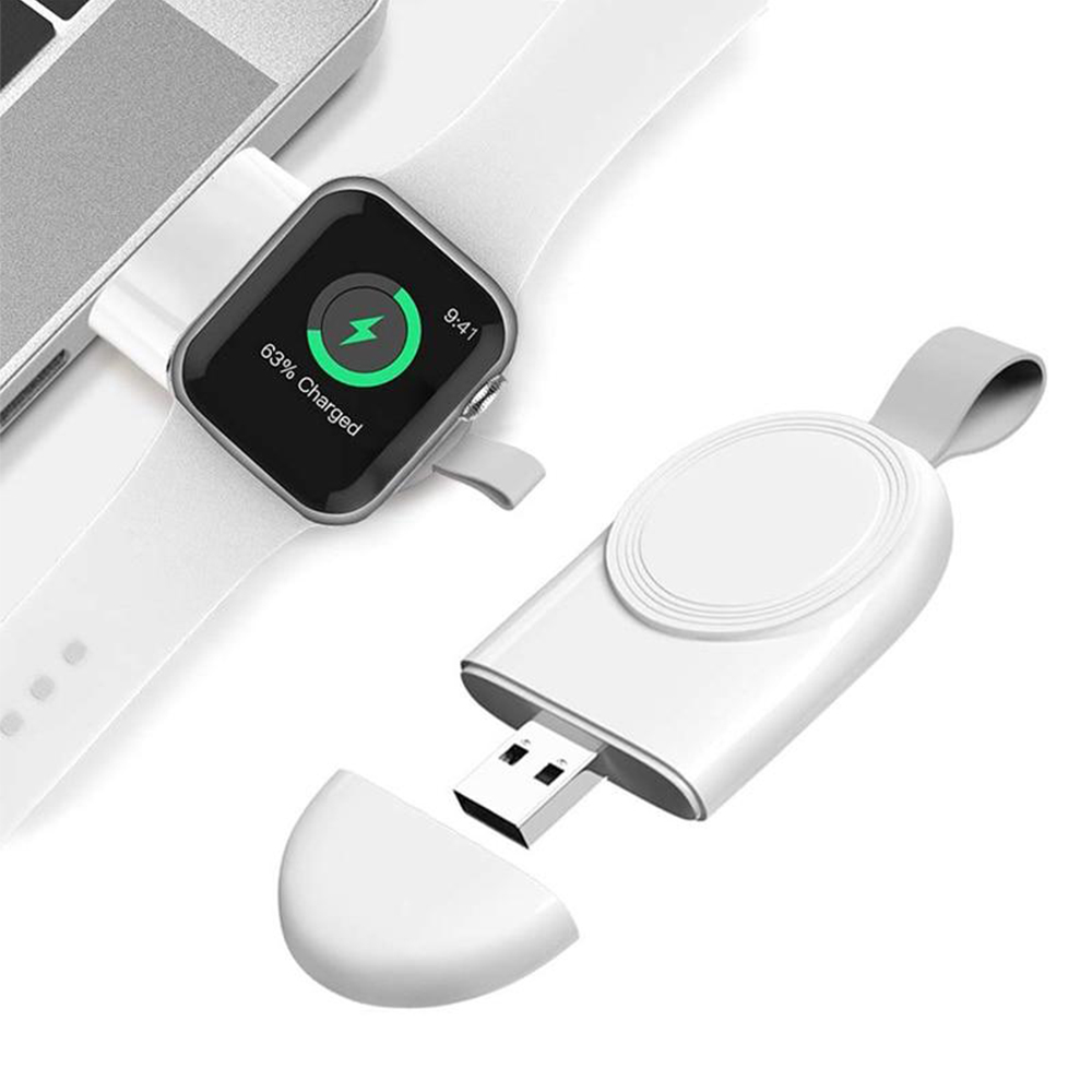 Portable Fast Charging Wireless Charger for iWatch 6 SE 5 4 USB Charging Dock Station for Apple Watch Series 5 4 3 2 1_1