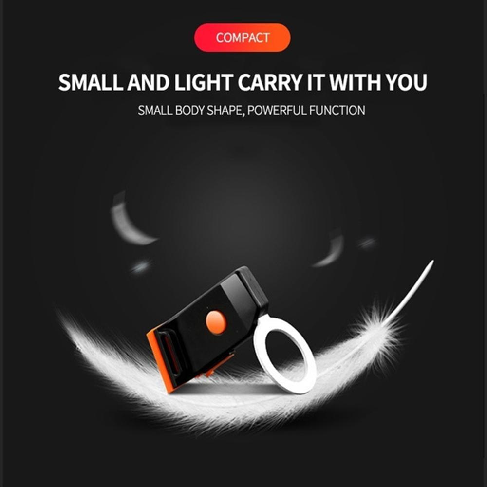 USB Charging LED Multiple Lighting Modes Bicycle Light Flashing Tail Light Rear Warning Bicycle Lights_7