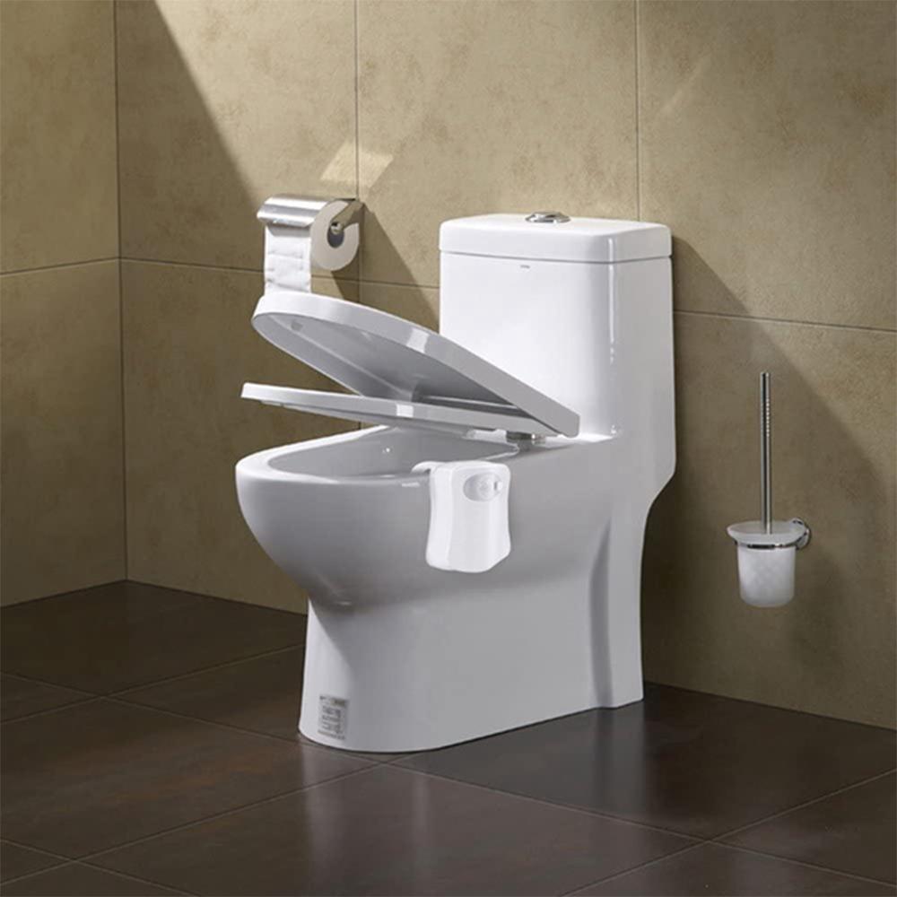 Smart Waterproof Motion Sensor Toilet Seat Night Light in 8 Colors_9
