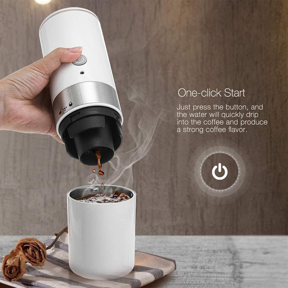 Easy Operating USB Rechargeable Automatic Portable Espresso Coffee Machine_2