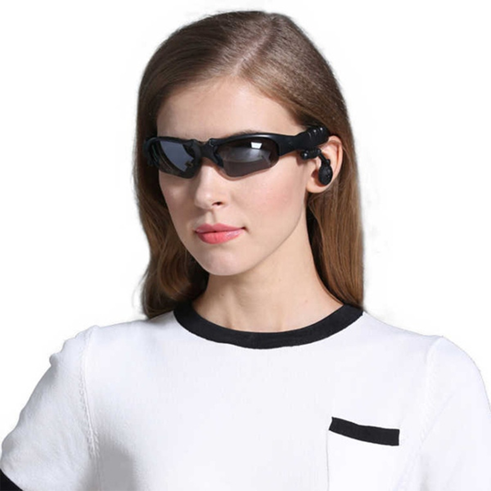 Outdoor Polarized Light Sunglasses and Wireless Bluetooth Headset Portable Glasses Headset_1