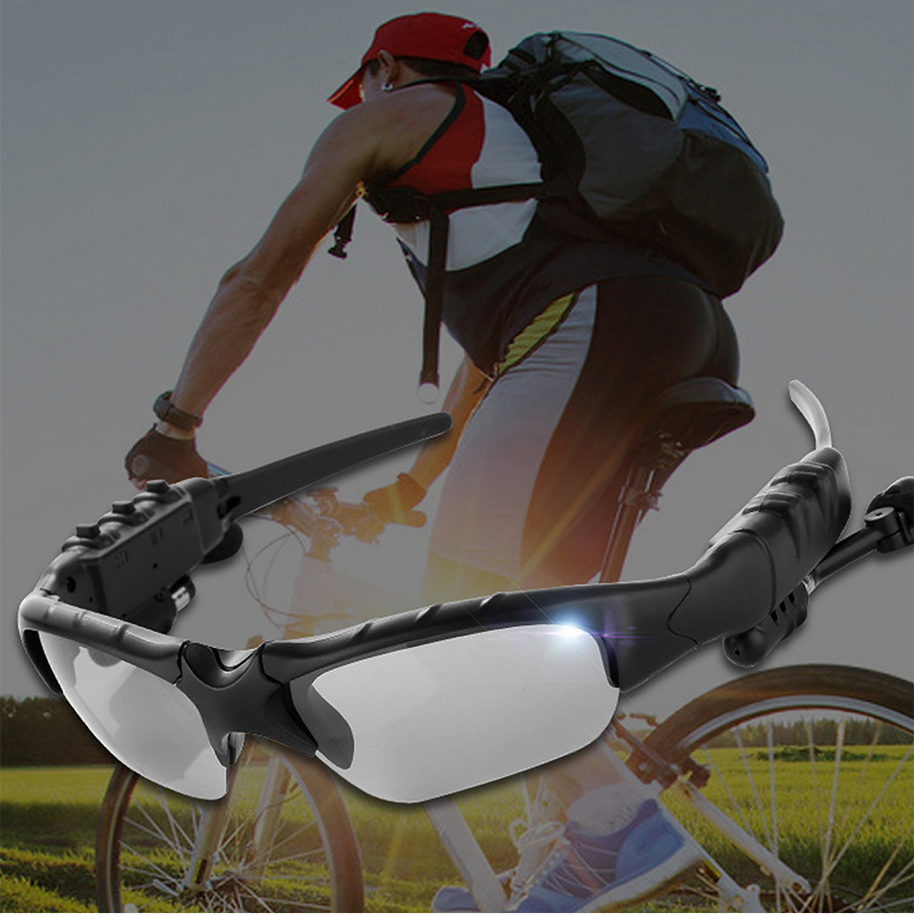 Outdoor Polarized Light Sunglasses and Wireless Bluetooth Headset Portable Glasses Headset_2