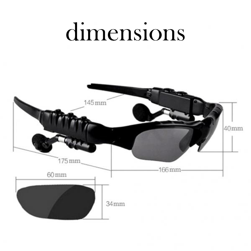 Outdoor Polarized Light Sunglasses and Wireless Bluetooth Headset Portable Glasses Headset_6