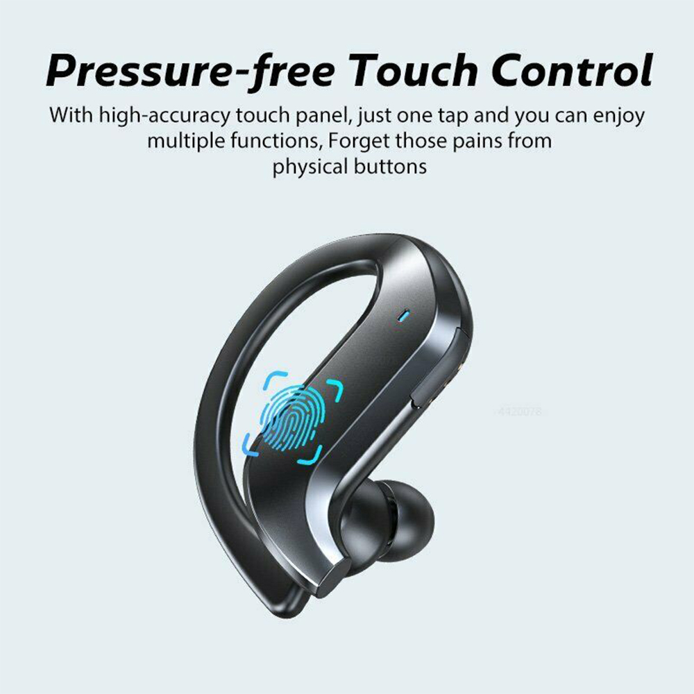 MD03 TWS Wireless Bluetooth Earphones Over-Ear Hanging Ear Hooks for iOS and Android Devices_2