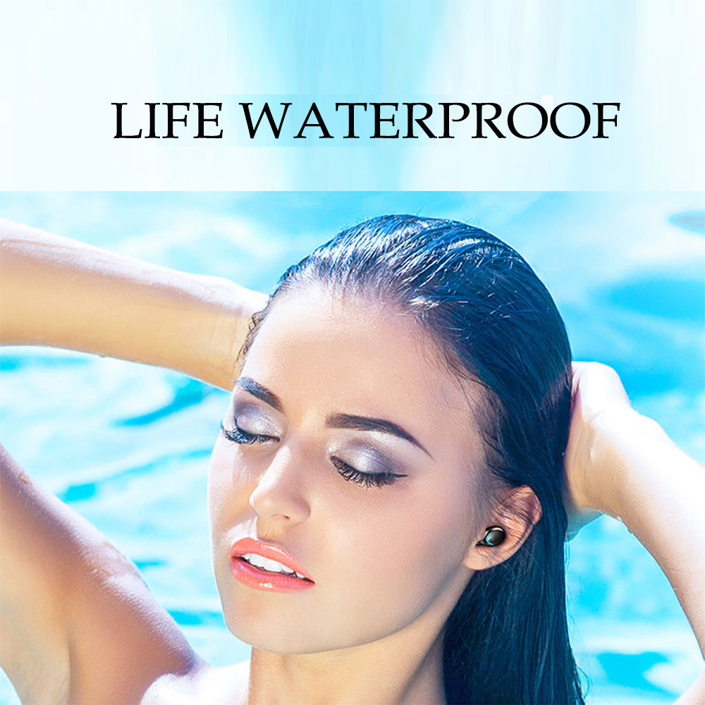 TWS 2200mAh Bluetooth 5.0 Wireless In-Ear Waterproof Earbuds Touch Control Headphones_7