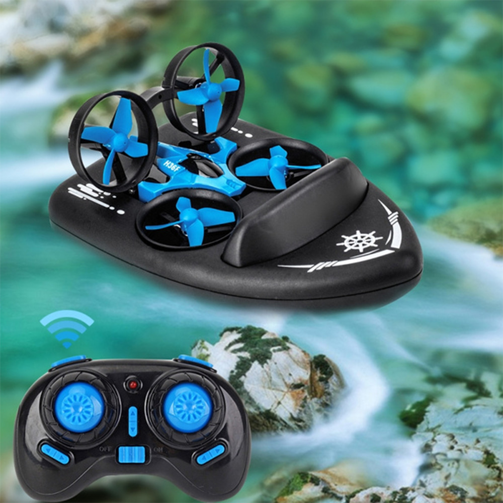 3-in-1 Remote Controlled Toy Drone Hover Glider for Land, Air, and Water_1
