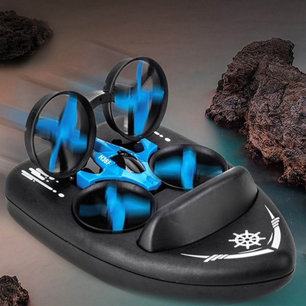 3-in-1 Remote Controlled Toy Drone Hover Glider for Land, Air, and Water_2