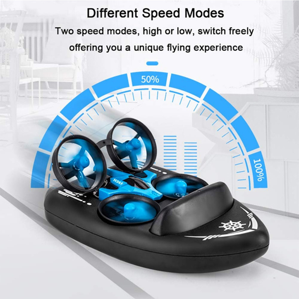 3-in-1 Remote Controlled Toy Drone Hover Glider for Land, Air, and Water_6