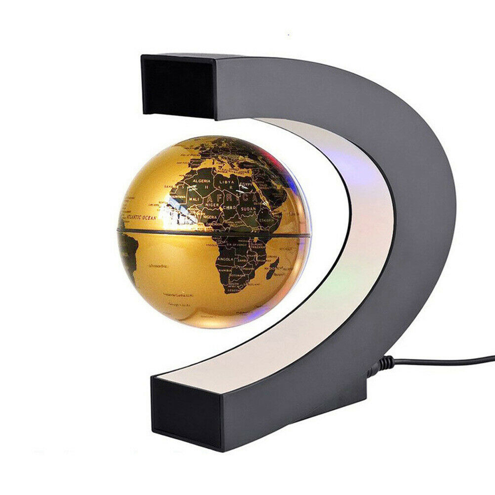 C- Shaped Magnetic Levitation Globe for Desk Table and Home Decoration_8