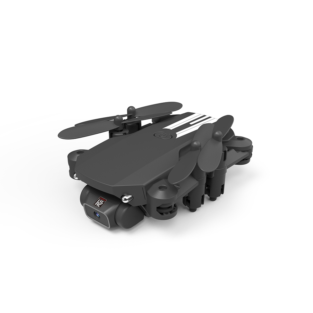 USB Rechargeable 4K Resolution Mini Folding Drone with Remote Control_1