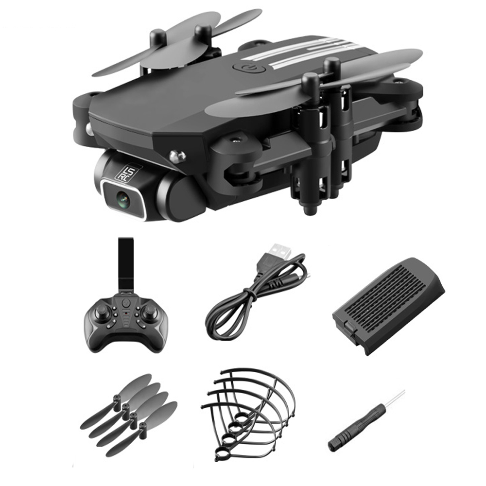 USB Rechargeable 4K Resolution Mini Folding Drone with Remote Control_2
