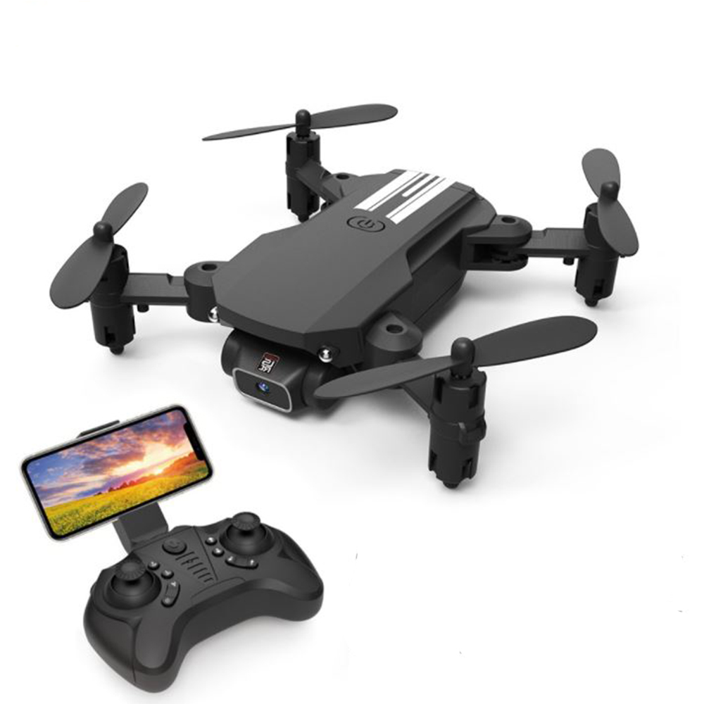 USB Rechargeable 4K Resolution Mini Folding Drone with Remote Control_5