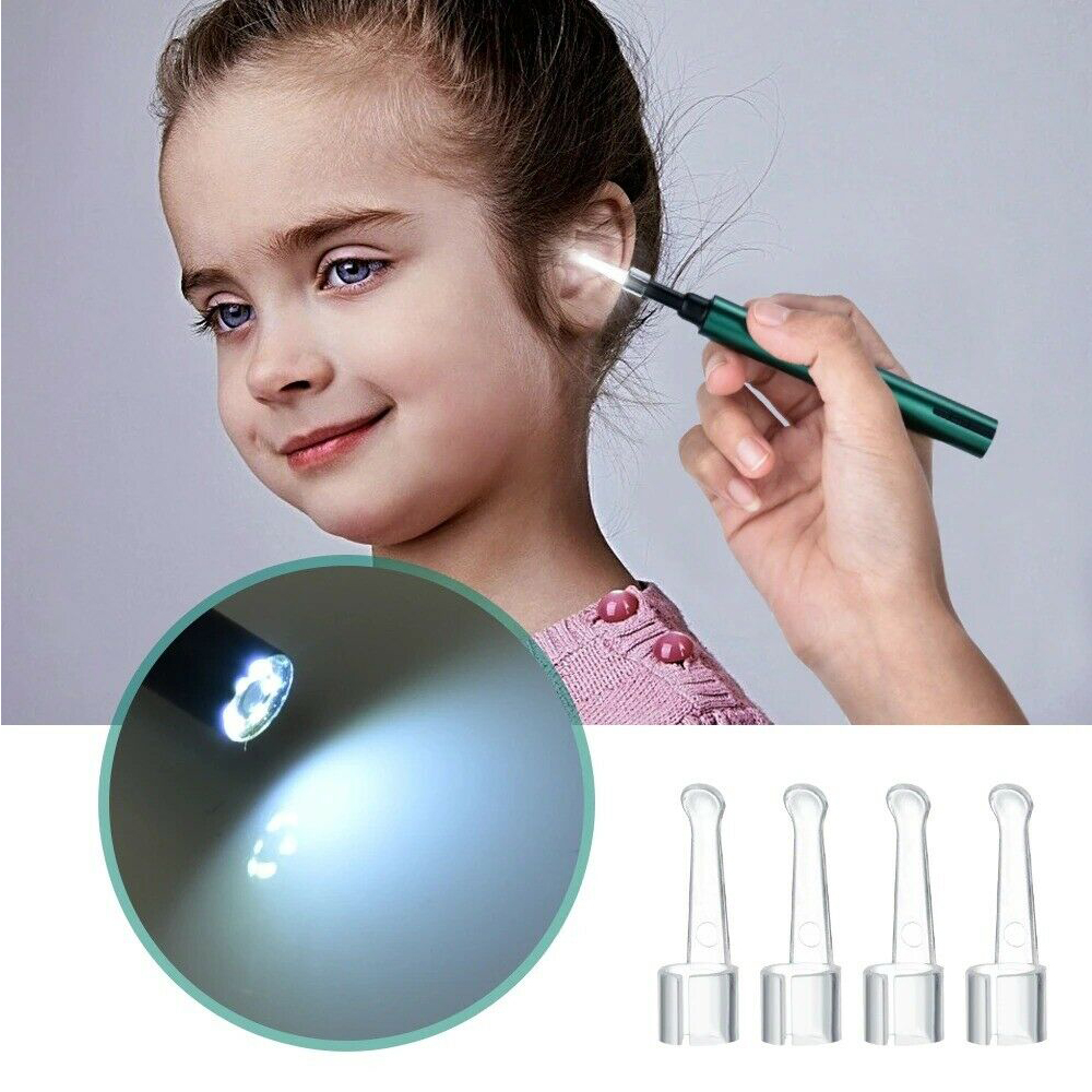 WI-FI Enabled HD Wireless Otoscope Earwax Remover Visual Ear Cleaner_9