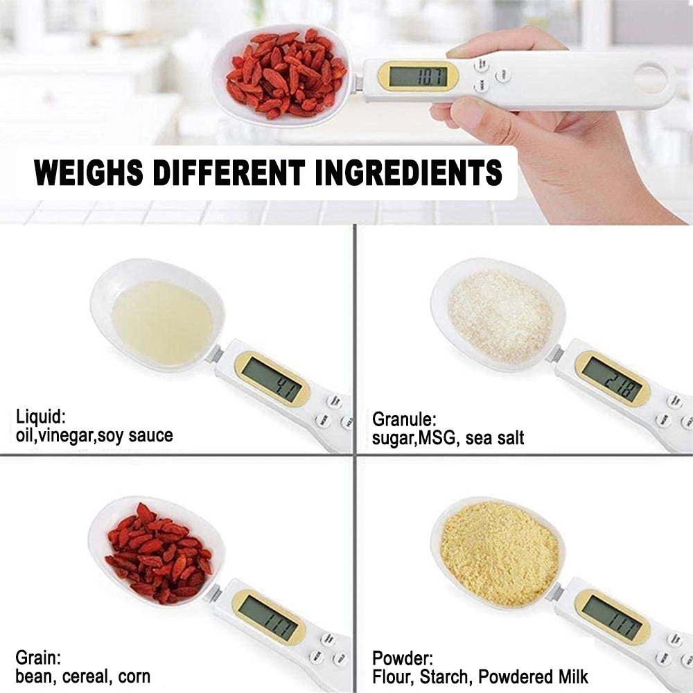 Electronic Scale Digital Measuring Spoon in Gram and Ounce_3