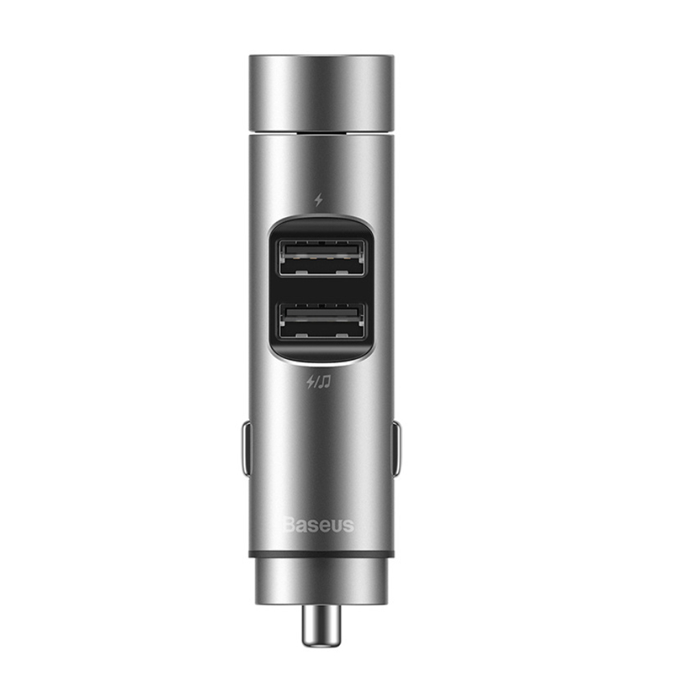 Wireless Car Bluetooth Transmitter and Charger Column Style_9