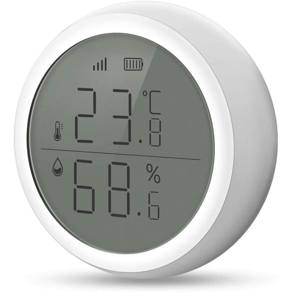 Smart Temperature and Humidity Sensor Wireless Detector_1