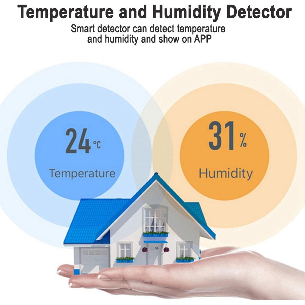 Smart Temperature and Humidity Sensor Wireless Detector_4