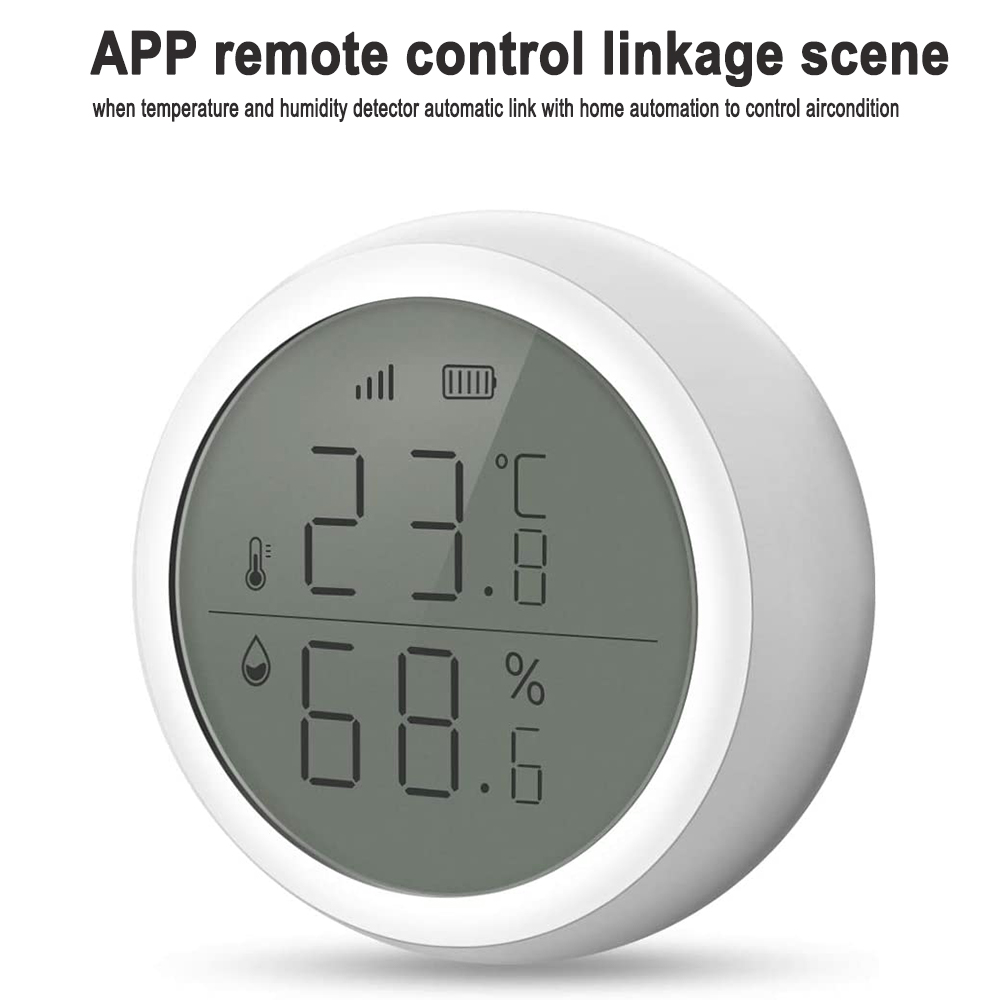 Smart Temperature and Humidity Sensor Wireless Detector_7