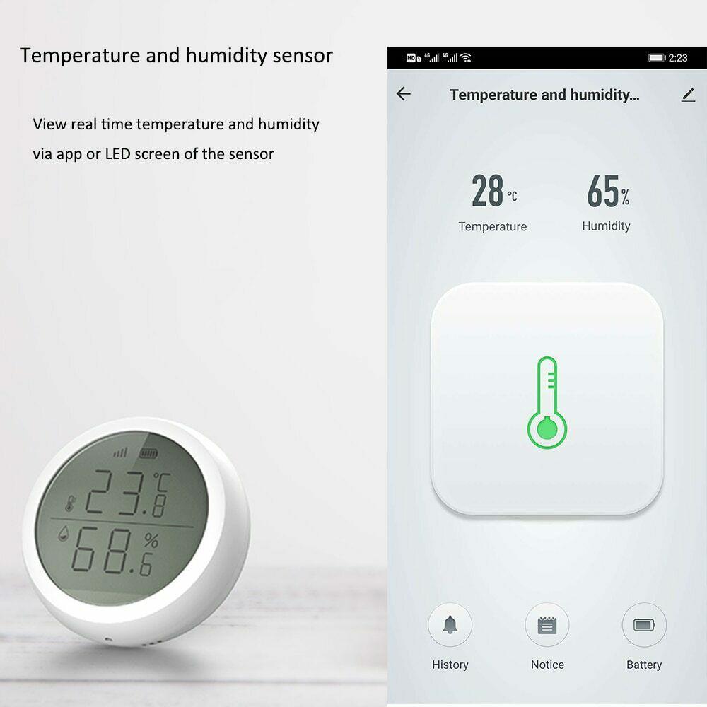 Smart Temperature and Humidity Sensor Wireless Detector_3