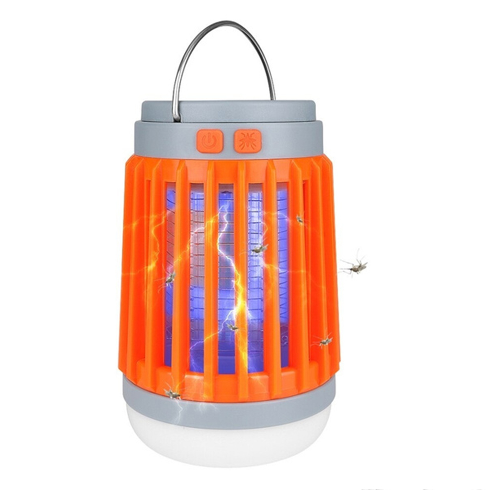 Solar Powered LED Outdoor Light and Mosquito Killer USB Charging_2