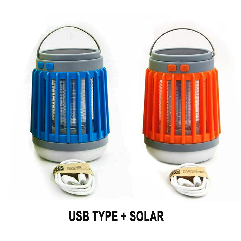 Solar Powered LED Outdoor Light and Mosquito Killer USB Charging_8