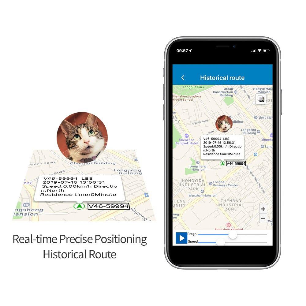 GPS Pet Tracking Device Pet Collar Navigation System_8